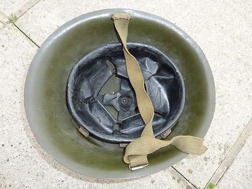 MKIV 'Turtle' helmet.Raw edge.