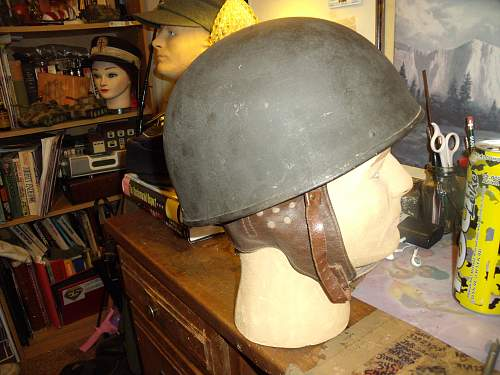 Dispatch Rider flashed helmet, ID please