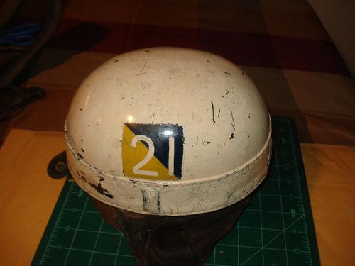 Canadian Dispatch riders Helmet, White Camo