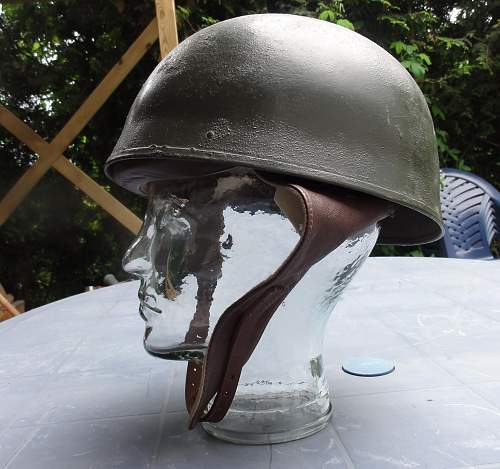 British Motorcyle Dispatcher Helmet. I think.