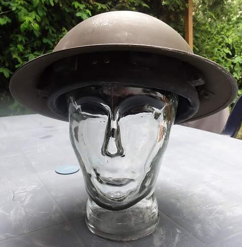 1941 British helmet?