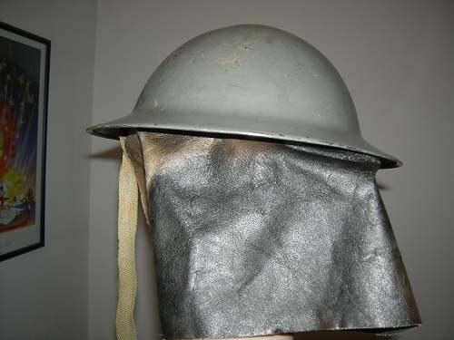 My British Mystery Helmet
