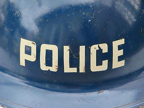 Mk2 Police sargeant Helmet.