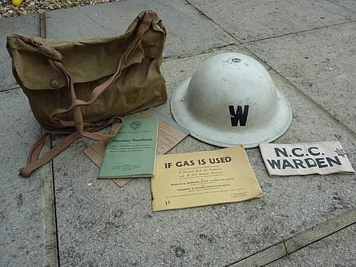Post Wardens mk2 helmet +extras