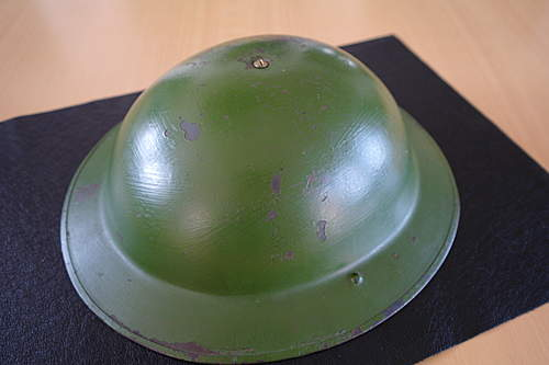 British  brodie helmet  post-war?