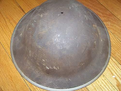 Info needed on brodie helmets.