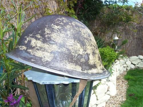 Mk 3 Turtle helmet, latest addition.
