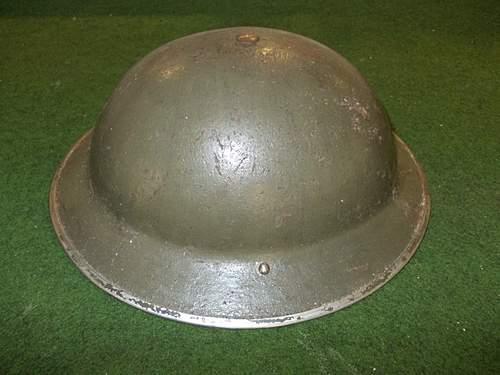 Please identify this British helmet!
