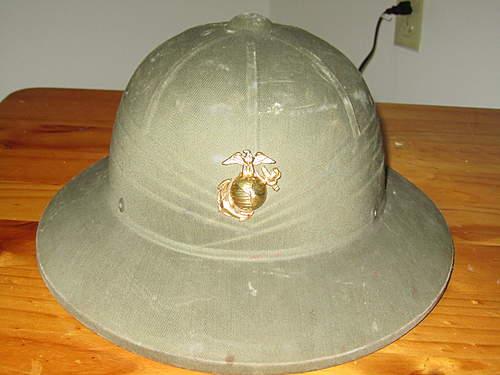 USMC Tropical Pith Helmet. Authentic?