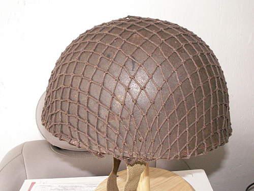 Canadian MkI RAC Steel Helmet