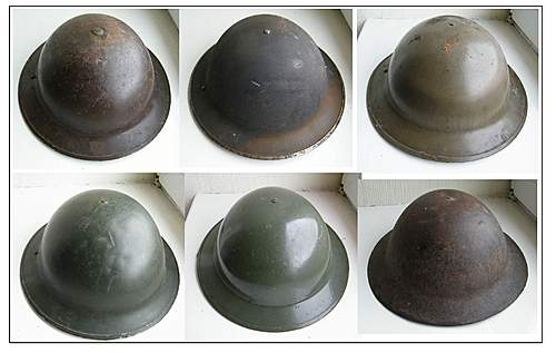 Click image for larger version.  Name:Tommy helmet collection smaller.jpg Views:232 Size:196.2 KB ID:395322