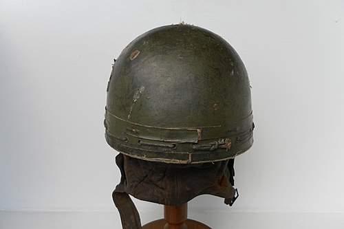 Glider pilots helmet