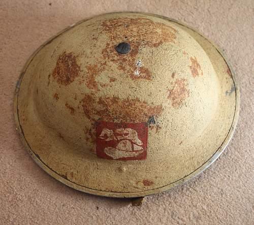 British desert helmet?