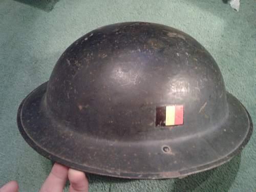 British or Belgian Helmet? WW2 or other?