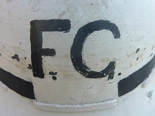 Senior FireGuard civilian Protective Helmet.