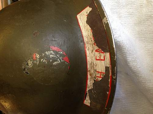 WW2 National Fire Service helmet