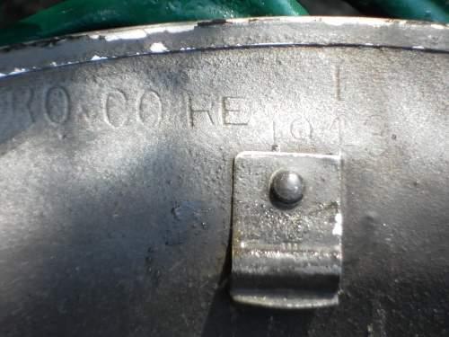 Brodie helmet Mk II chin strap lugs