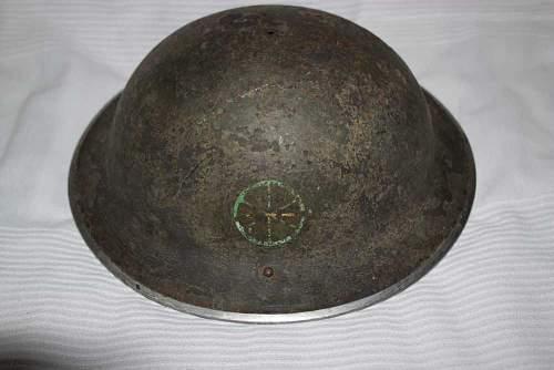 Normandy MKII Helmet - need help to identify insignia