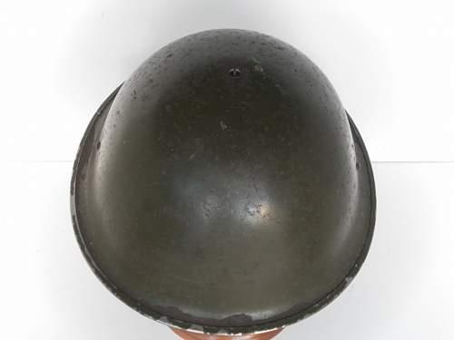 British MkIII Turtle pattern helmet