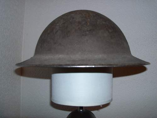 British MkIII Turtle pattern helmet
