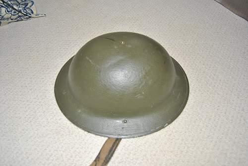 WW2 brodie helmet help!