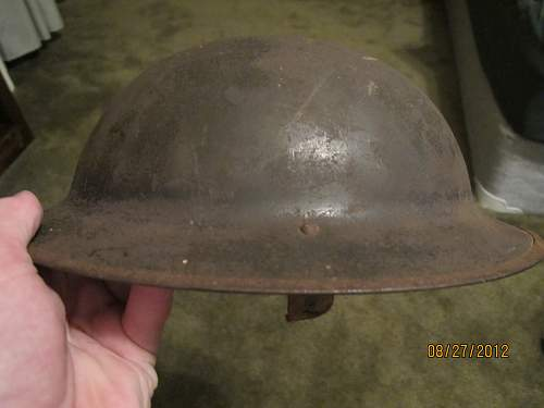 Where to find WW1 American Helmet liner?