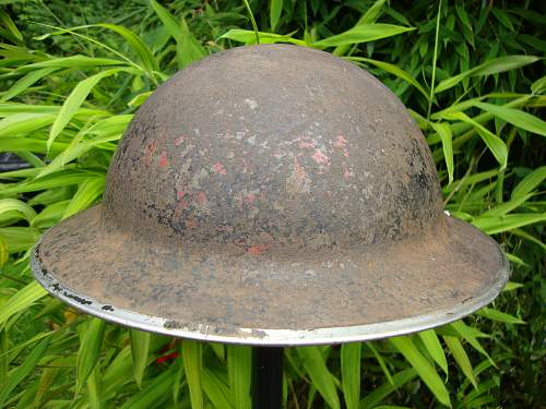 Mystery British home front lid.