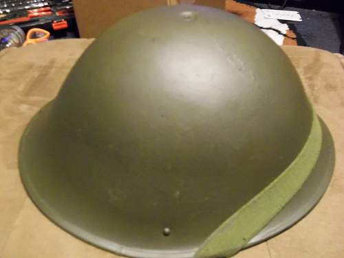Unknown WW2 Helmet