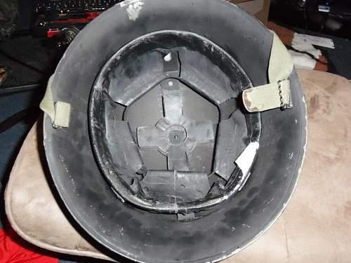 Unknown WW2 Helmet