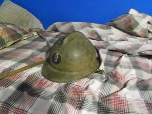 New found helmet