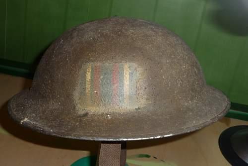british flashed helmet, help