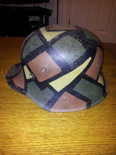 Vickers helmet camo?