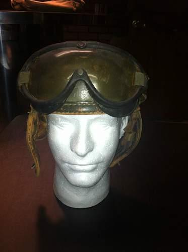 New addition WW2 US tanker helmet
