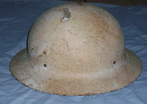 WW2 US civil defense helmet used in tropics?