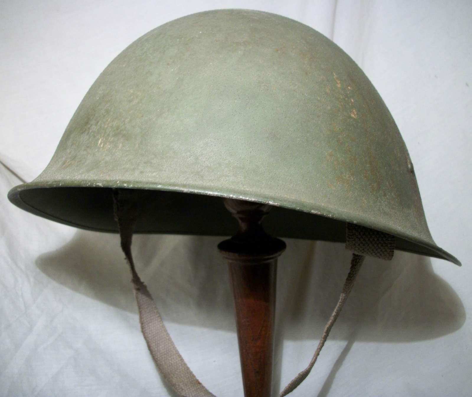 British Mkiii Turtle Pattern Helmet Page 7