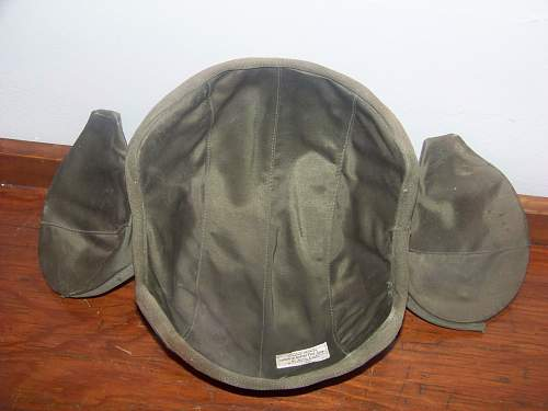 US flak helmet M4a2 just pick-up.