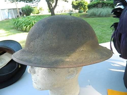 British MK1 Brodie? - WW1