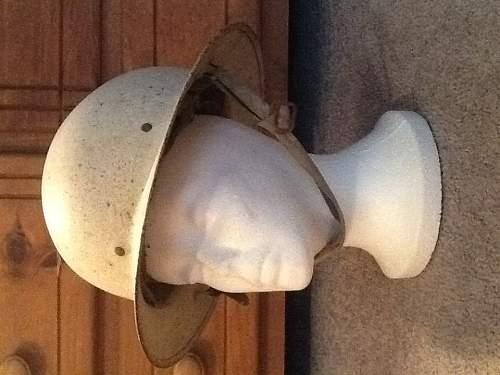 Civil defense helmet