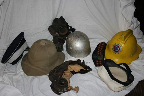 few of my helmets from childhood.