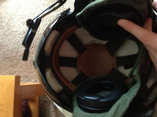 Flea market helmet