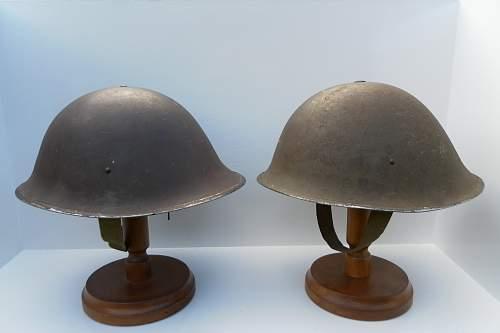 British MK II Brodie helmet