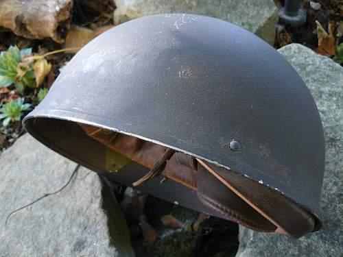 Nice Unissued Canadian Despatch Riders Helmet