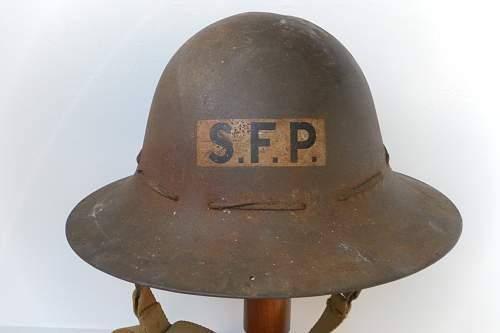 Civilian protective helmet : Supplementary Fire Parties