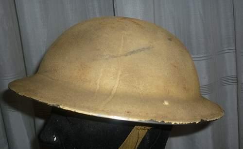 Ww2 original british  helmet?