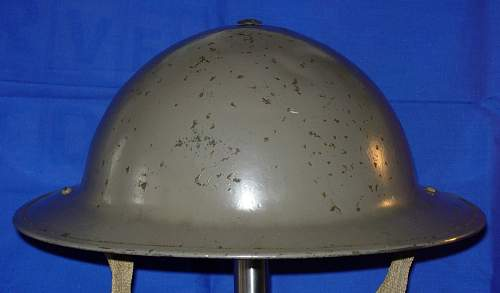 ww2 Canadian helmet question