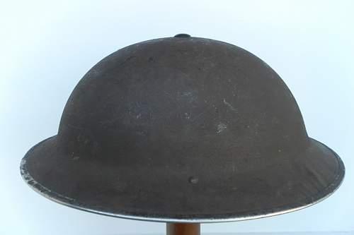 variant textures on mk2 British Brodie Helmets.