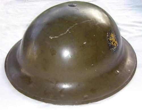 mkII (&mkI or earlier) Helmets Steel, British & Commonwealth, show yours