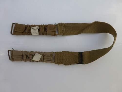 WW2 British chin straps