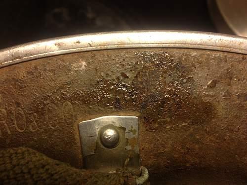 MKII Desert Tan, British RO&Co 1941 shell, SA Jaeger Rand 1940 liner