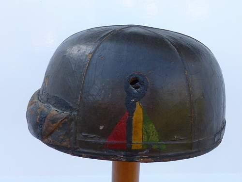 WW2 British & Canadian Helmets, Crash, & Helmets, Steel, Royal Armoured Corps.